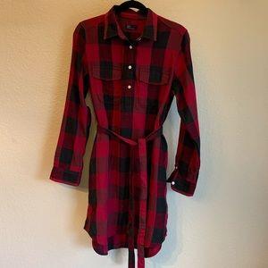 Gap Buffalo Plaid Tunic/Dress  Large